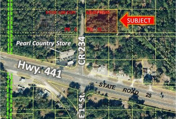 Commercial Lot in Micanopy